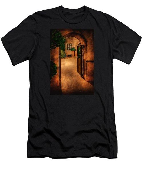 Tlaquepaque Men's T-Shirt (Slim Fit) by Priscilla Burgers