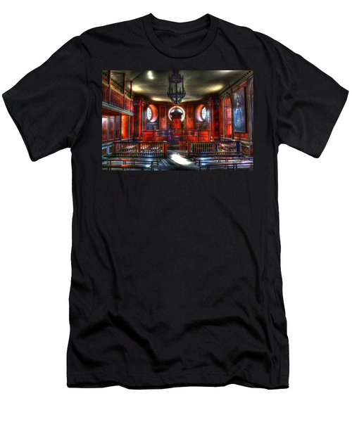 To Be Judged Men's T-Shirt (Slim Fit) by Dan Stone
