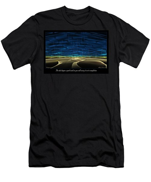 To Completion Men's T-Shirt (Athletic Fit)