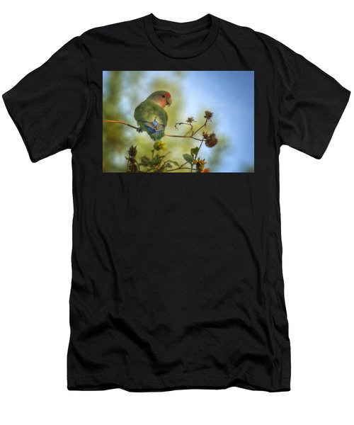 To Love A Lovebird Men's T-Shirt (Athletic Fit)