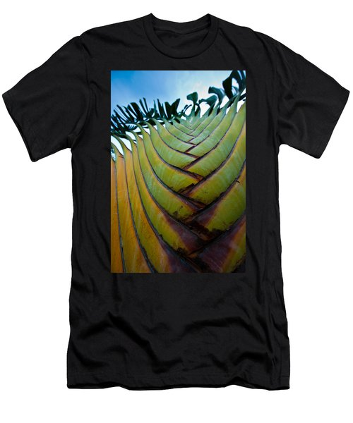 Men's T-Shirt (Athletic Fit) featuring the photograph To The Sky by Sebastian Musial