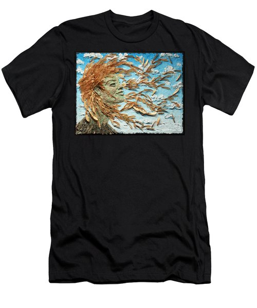To The Wind Men's T-Shirt (Athletic Fit)
