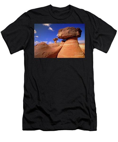 Toadstool Caprocks New Mexico Men's T-Shirt (Athletic Fit)