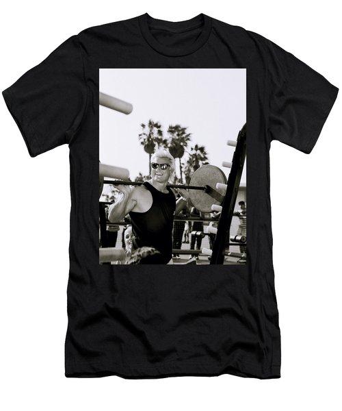Tom Platz In Los Angeles Men's T-Shirt (Athletic Fit)