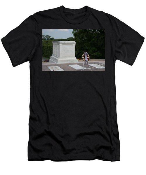 Tomb Of The Unknown Soldier Men's T-Shirt (Slim Fit) by Carol Ailles