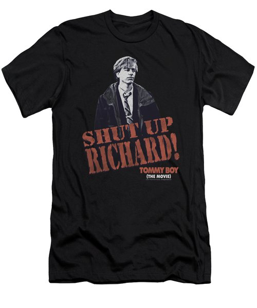 Tommy Boy - Shut Up Richard Men's T-Shirt (Athletic Fit)