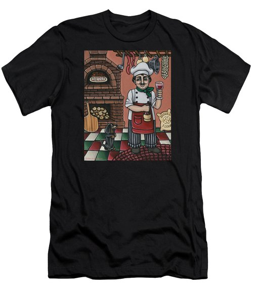 Tommys Italian Kitchen Men's T-Shirt (Athletic Fit)