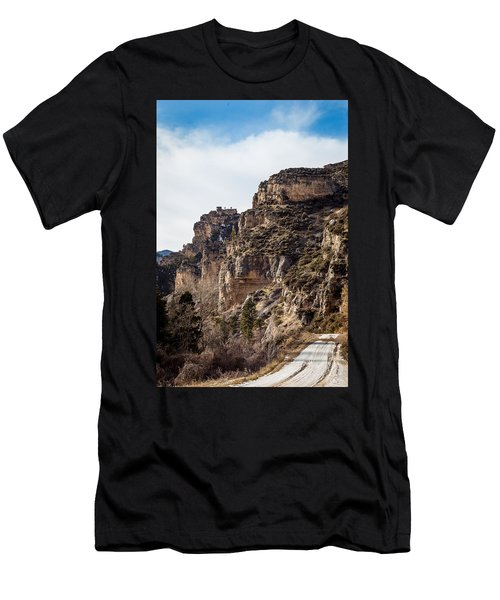 Tongue River Canyon Men's T-Shirt (Athletic Fit)