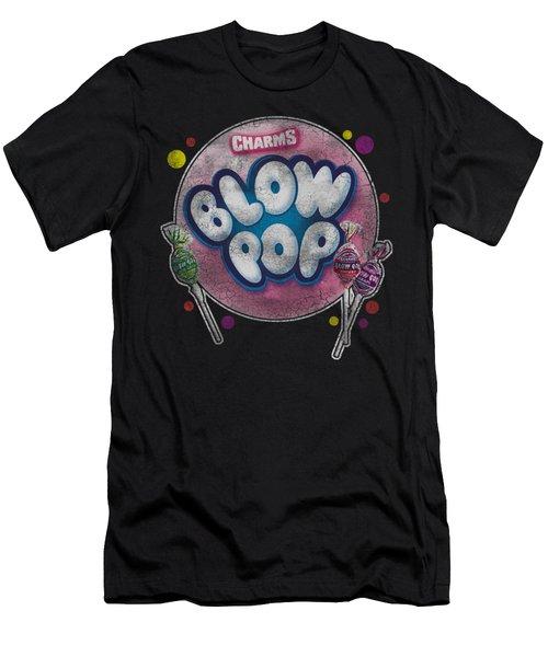 Tootsie Roll - Blow Pop Bubble Men's T-Shirt (Athletic Fit)