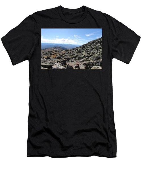 Top View Mt Washington Men's T-Shirt (Athletic Fit)
