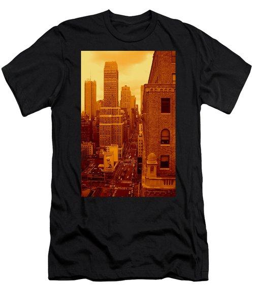 Top Of Manhattan Men's T-Shirt (Athletic Fit)