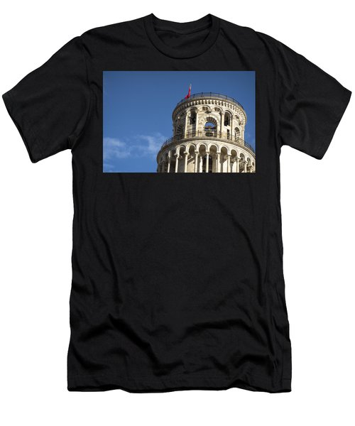 Top Of The Leaning Tower Of Pisa Men's T-Shirt (Athletic Fit)