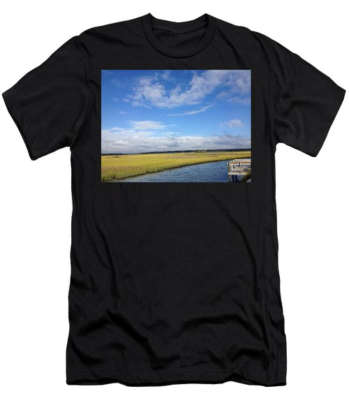 Topsail Island Icw Men's T-Shirt (Athletic Fit)