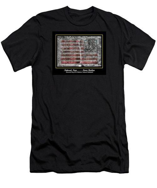 Tattered Torn . . . . . Never Broken - Memorial Day 2014 Antietam National Battlefield Men's T-Shirt (Slim Fit) by Michael Mazaika