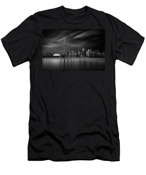Toronto Skyline - 8 Minutes In Toronto Men's T-Shirt (Athletic Fit)