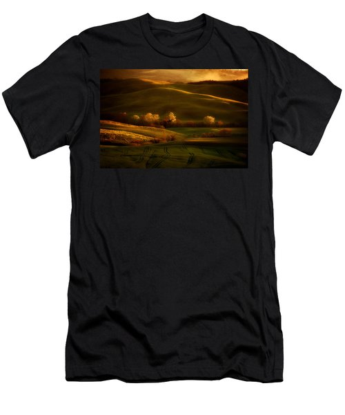 Men's T-Shirt (Athletic Fit) featuring the photograph Toskany Impression by Jaroslaw Blaminsky