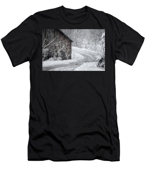 Touched By Snow Men's T-Shirt (Athletic Fit)