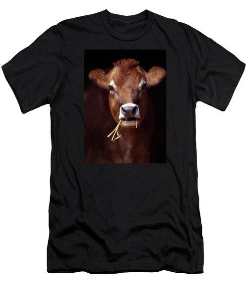 Toupee Men's T-Shirt (Slim Fit) by Skip Willits
