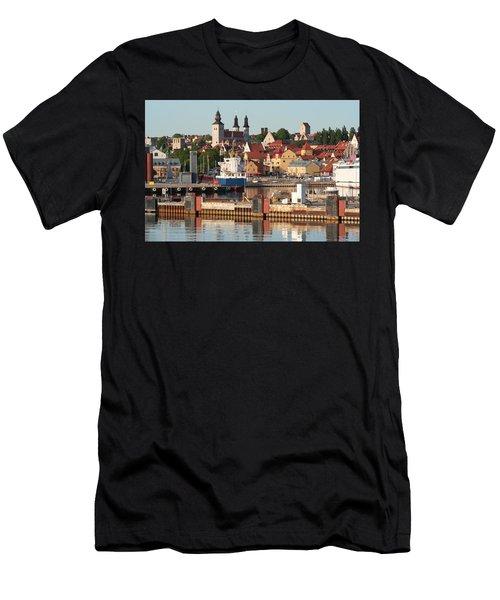Town Harbour Men's T-Shirt (Athletic Fit)