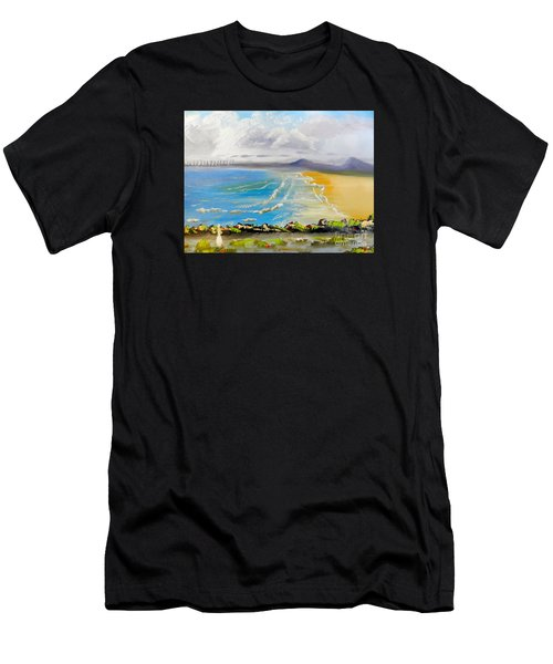 Towradgi Beach Men's T-Shirt (Athletic Fit)
