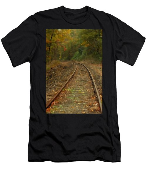 Tracking Thru The Woods Men's T-Shirt (Athletic Fit)