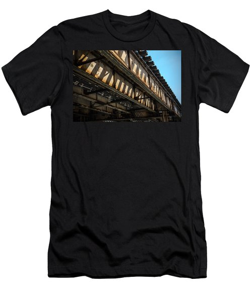 Tracks In The Sun Men's T-Shirt (Athletic Fit)