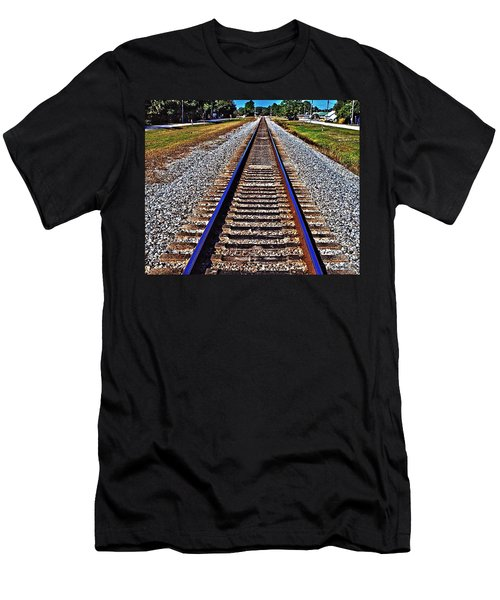 Tracks To Somewhere Men's T-Shirt (Athletic Fit)