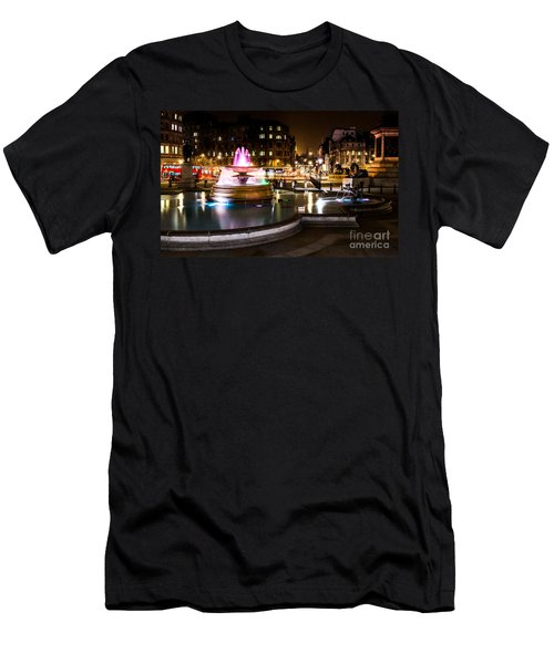 Men's T-Shirt (Slim Fit) featuring the photograph Trafalgar Square by Matt Malloy