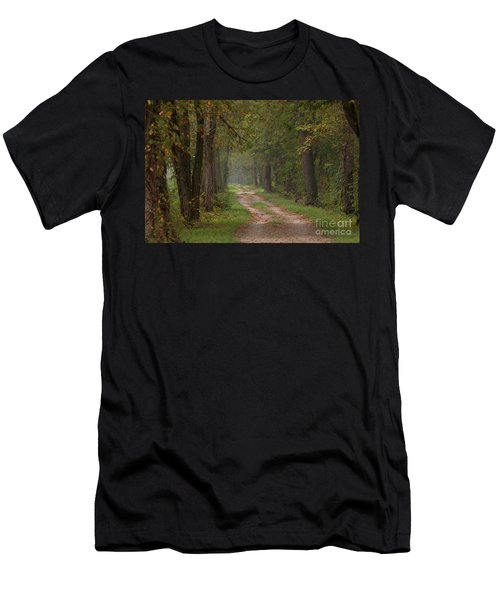 Trail Along The Canal Men's T-Shirt (Athletic Fit)