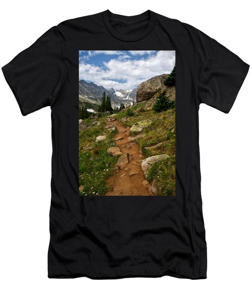 Trail To Lake Isabelle Men's T-Shirt (Athletic Fit)