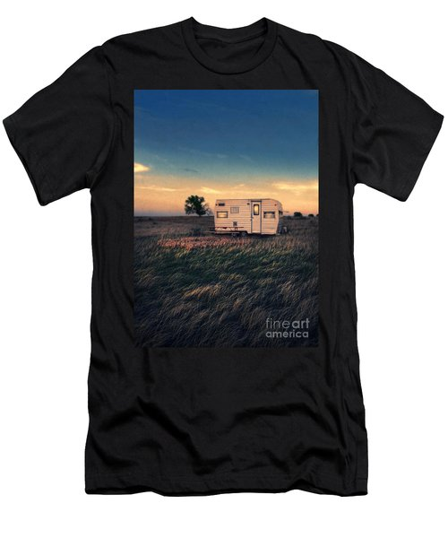 Trailer At Dusk Men's T-Shirt (Athletic Fit)