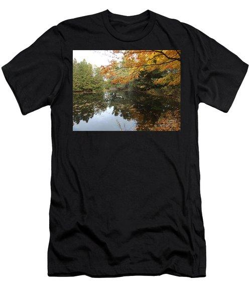 Tranquil Getaway Men's T-Shirt (Slim Fit) by Brenda Brown