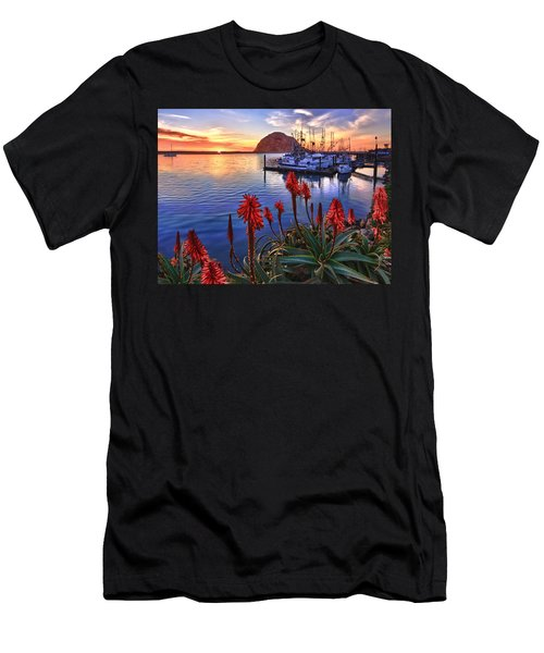 Tranquil Harbor Men's T-Shirt (Athletic Fit)