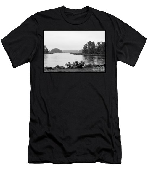 Tranquil Harbor Men's T-Shirt (Slim Fit)