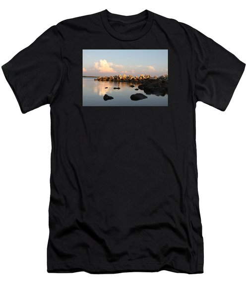 Tranquil Inlet Men's T-Shirt (Athletic Fit)