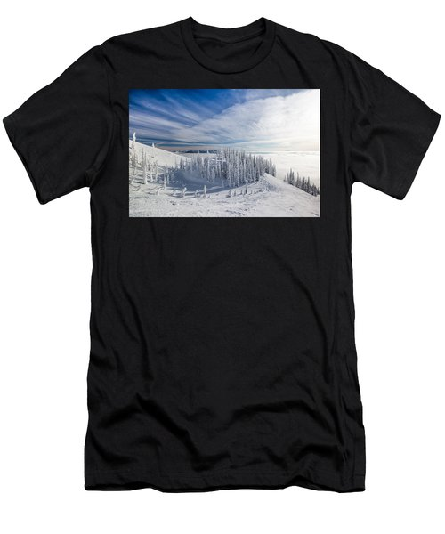 Tranquil Island Men's T-Shirt (Athletic Fit)