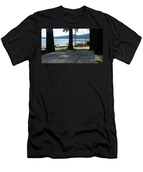 Men's T-Shirt (Slim Fit) featuring the photograph Tranquil Moment by Bobbee Rickard