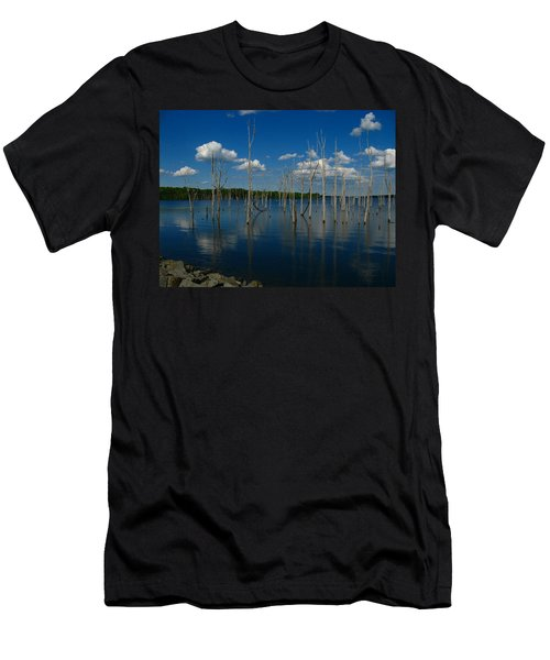 Men's T-Shirt (Slim Fit) featuring the photograph Tranquility II by Raymond Salani III