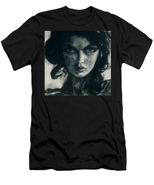 Portait Of Beatcee May Men's T-Shirt (Athletic Fit)