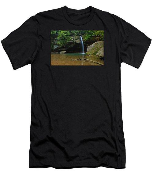 Tranquility Men's T-Shirt (Slim Fit) by Julie Andel