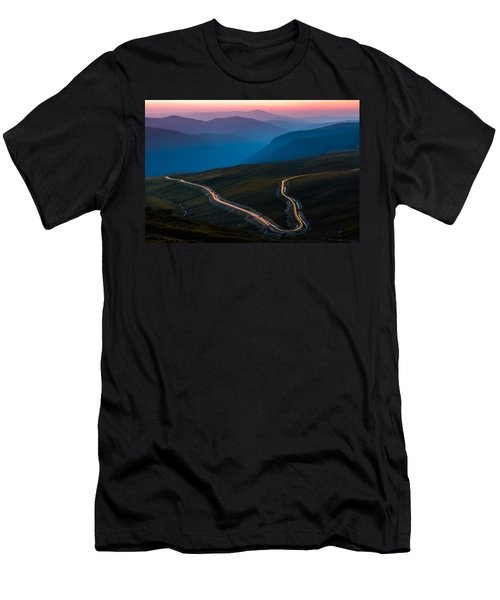 Transalpina Men's T-Shirt (Slim Fit) by Mihai Andritoiu