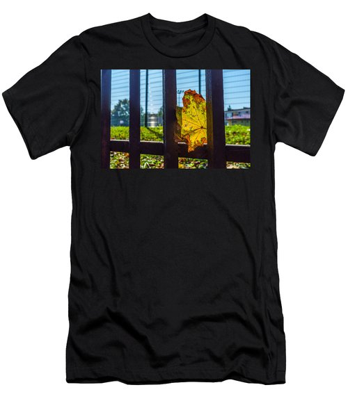 Trapped And Slowly Dying Men's T-Shirt (Slim Fit) by Tgchan