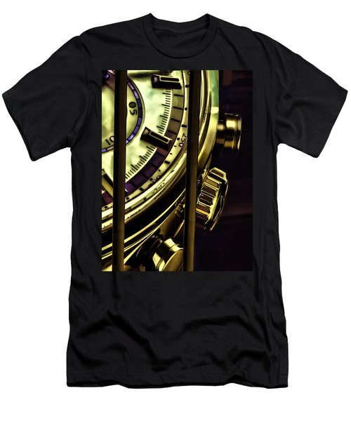 Men's T-Shirt (Slim Fit) featuring the painting Trapped In Time by Muhie Kanawati