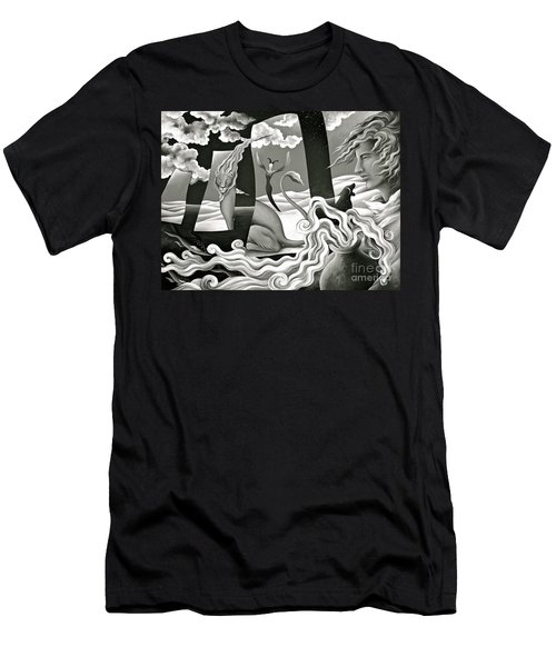Traveler's Fortune Men's T-Shirt (Athletic Fit)