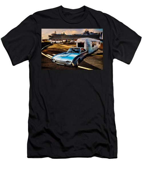 Travelin' In Style Men's T-Shirt (Athletic Fit)