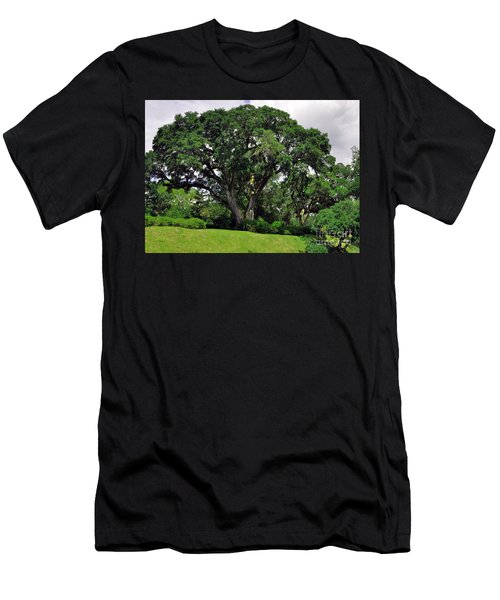 Tree By The River Men's T-Shirt (Athletic Fit)