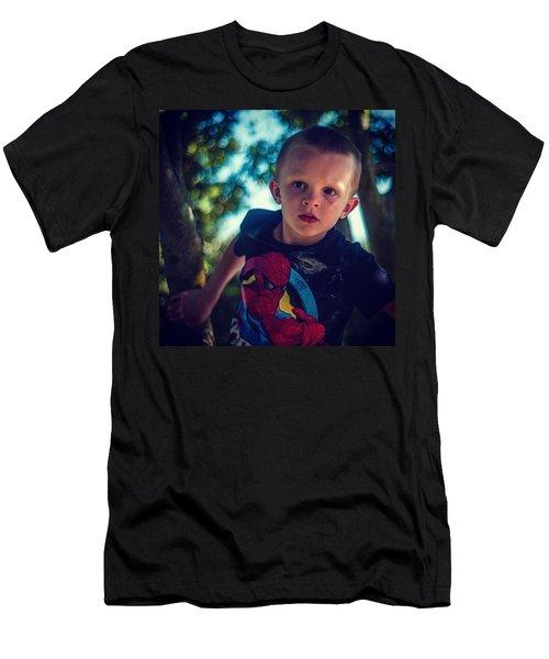 Tree Climbing Men's T-Shirt (Athletic Fit)