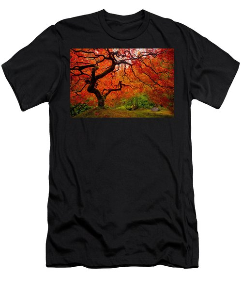 Tree Fire Men's T-Shirt (Athletic Fit)