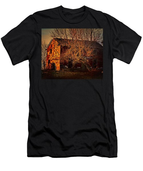 Tree House Men's T-Shirt (Slim Fit) by Robert McCubbin