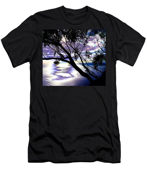 Tree In Silhouette Men's T-Shirt (Athletic Fit)